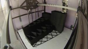 Capture d'écran d'une vidéo montrant l'impression d'une pièce de la 3D Print Canal House